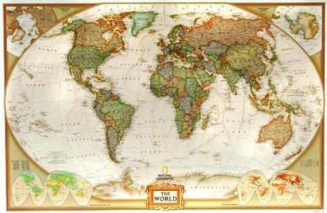 Nastenna Mapa Svet National Geographic Sevt Cz