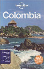 Colombia průvodce Lonely planet v angličtině