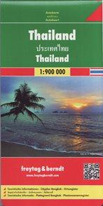 Thajsko - automapa 1:900 000