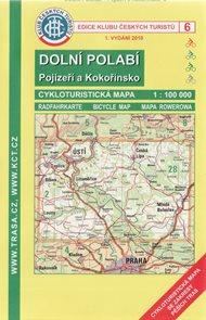 KČT Dolní Polabí, Pojizeří a Kokořínsko cyklomapa