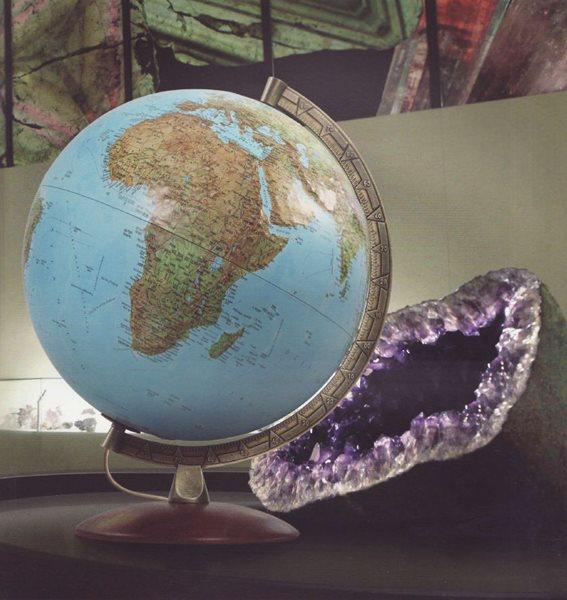 Globus reliéfní Primus 30 cm, Doprava zdarma