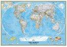 Svět - nástěnná politická mapa Classic 185x122 cm