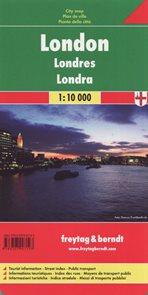 Londýn - městský plán 1: 10 000
