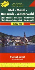 Cyklomapa Eifel - Mosel - Hunsrück 1: 150 tis.