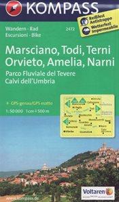 Marsciano, Todi, Terni, Orvieto, Amelia, Narni