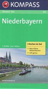 Niederbayern Kompass 160 set 3 map