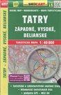 Tatry Západné, Vysoké, Belianské 1:40 000