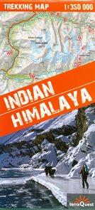 Indiánský Himaláj - trekkingová mapa 1: 350 tis.