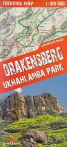 Drakensberg Ukhahlamba Park - trekkingová mapa 1:100t
