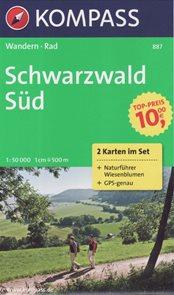 Schwarzwald jih Kompass 1: 50t