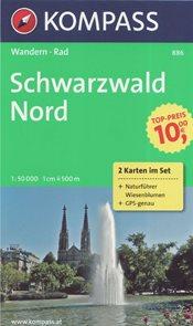 Schwarzwald sever Kompass 1: 50t