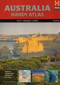 Austrálie (Australia) cestovní atlas Hema