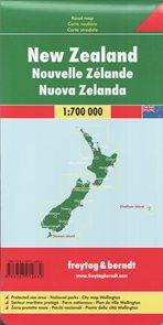 Nový Zéland mapa 1:700 000