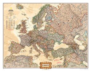 Evropa National Geographic Executive hněda 1: 5,42 mil.