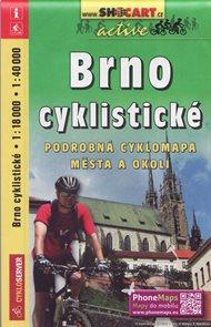 Brno cyklomapa 1: 18 000 a 40 000