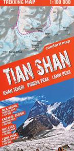 Tian Shan, Khan Tengri, Pobeda a Pik Lenina (Kyrgyzstan)