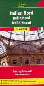 Itálie - sever - mapa Freytag - 1:500 000