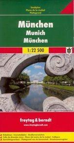 München /Mnichov/ - plán Freytag 1:22,5t