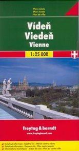 Vídeň - plán Freytag - 1:25t /Rakousko/