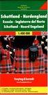 Skotsko, severní Anglie - mapa Freytag - 1:400 000 /Velká Británie/