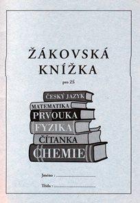 Žákovská knížka-ZŠ /modrá/