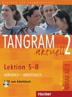 Tangram aktuell 2 /5-8/ Kursbuch+Arbeitsbuch+CD