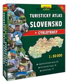 Turistický atlas Slovenska 1:50 000 + cyklotrasy Šanon