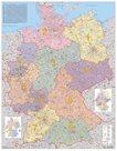 Německo - PSČ-nást. mapa 1:750 000