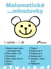 Matematické minutovky 1.r. 1. díl