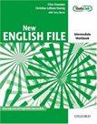 New English File intermediate Workbook with key and MultiROM