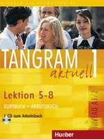 Tangram aktuell 1 /5-8/ Kursbuch + Arbeitsbuch + CD - A4, brožovaná
