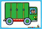 Teddys Train : Flashcards B
