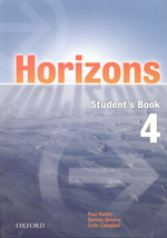 Horizons 4 Students Book with CD-ROM
