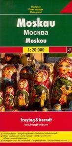 Moskva - plán Freytag - 1:20t /Rusko/