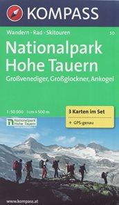 NP Hohe Tauern - set map Kompass č.50 - 1:50 000 /Rakousko/