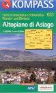 Altopiano di Asiago - mapa Kompass č.623 - 1:25t /Itálie/