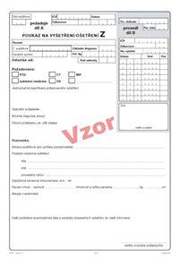 06z- Poukaz na vyšetření-ošetření Z