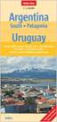 Argentina -jih-, Uruguay, Patagonie - mapa Nelles 1:2,5m