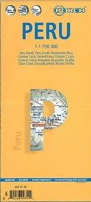 Peru - mapa Borch 1:1,75m