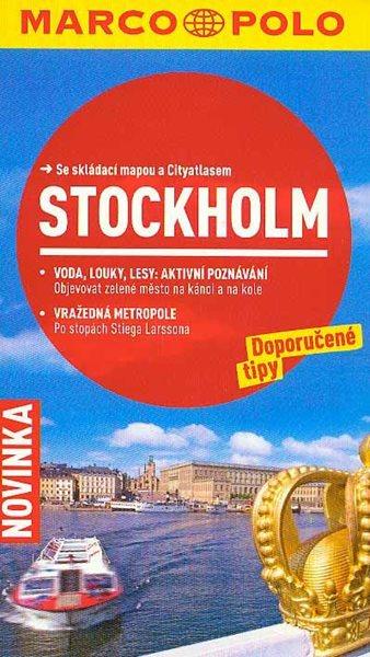 Stockholm - Průvodce se skládací mapou - 11x19 cm