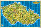 Dětská mapa Česká republika