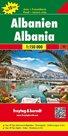 Albánie - Automapa 1:150 000