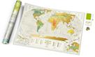 Stírací mapa světa - Geography World