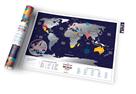 Stírací mapa světa - Holiday World