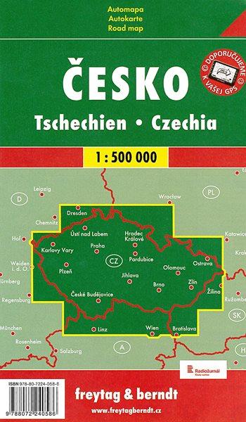 Česko - Automapa - 1 : 500 000