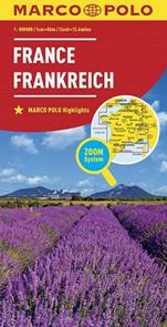 Francie mapa 1:800 000