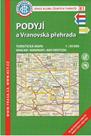 Podyjí a Vranovská přehrada 1:50 000 mapa - KČT 81