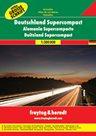 Autoatlas Německo superkompakt 1:300 000