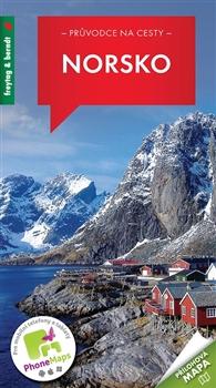 Norsko - průvodce na cesty + přílohová mapa