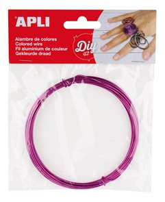 Modelovací drátek 1,5 mm, 5 m - fialový
